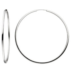 Creolen rund 925 Silber ca. 64 mm