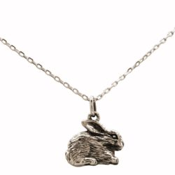 """Collier """"Hase"""" 925 Silber"""
